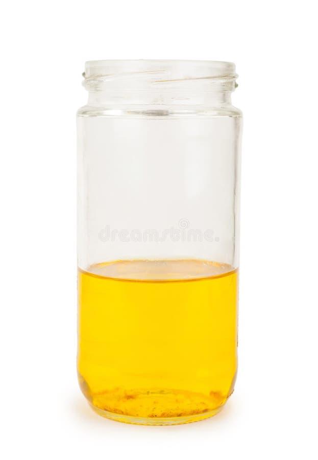 Бутылка с маслом стоковое изображение