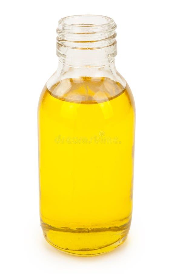 Бутылка с маслом стоковая фотография rf