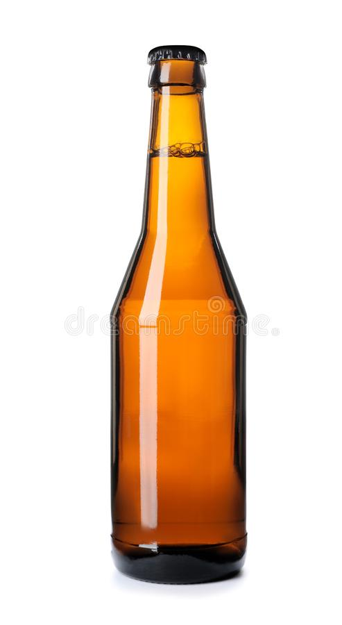 Бутылка холодного пива стоковые фотографии rf