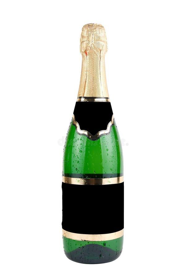 Бутылка Шампань стоковое изображение rf
