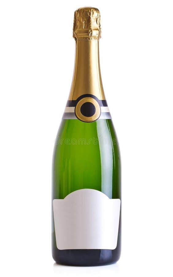 Бутылка Шампань стоковое фото rf