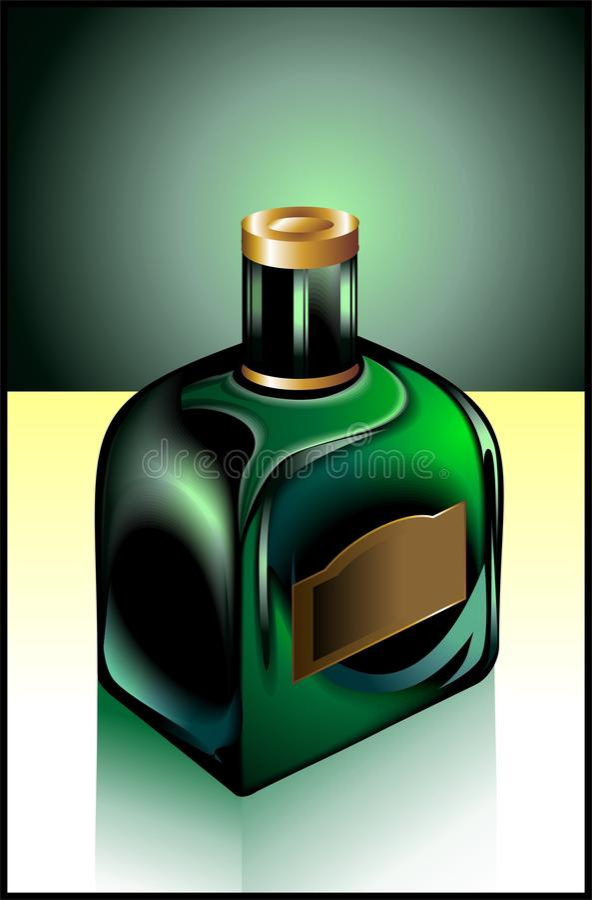 бутылка иллюстрация штока