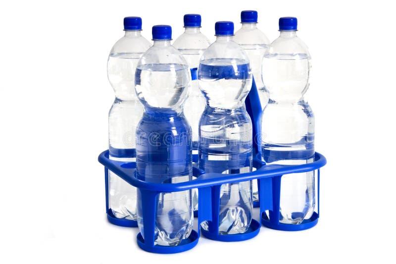 Бутылки воды стоковые фото