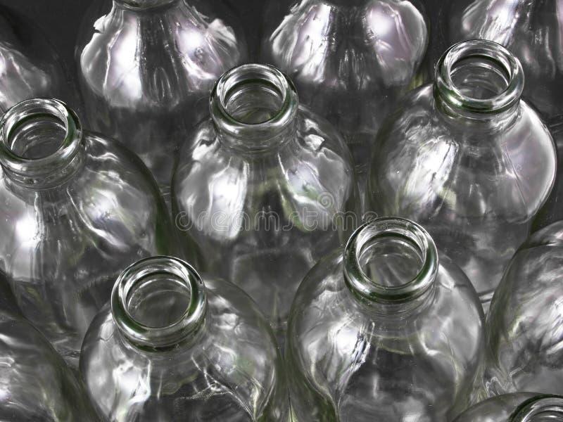 бутылки опорожняют стоковые изображения rf