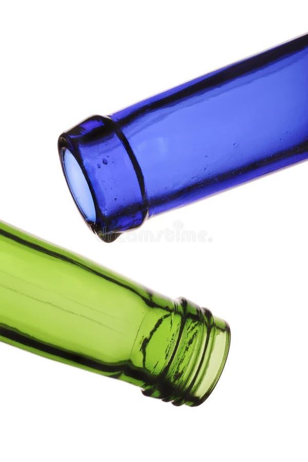 бутылки опорожняют стоковая фотография