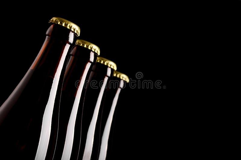 Бутылки пива стоковое изображение