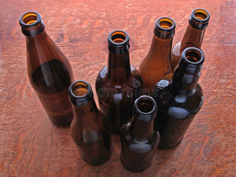 бутылки стоковые изображения
