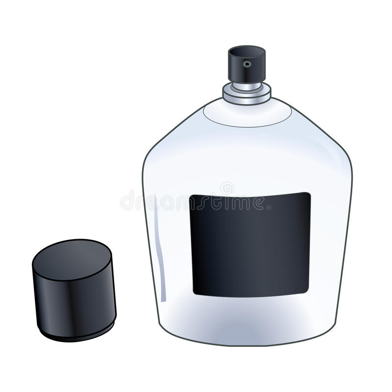 Бутылка брызга Кёльна  стоковая фотография rf