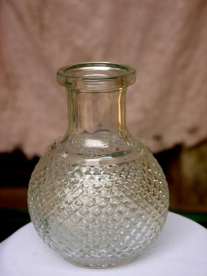 Бутылка графинчика без затвора стоковые фото