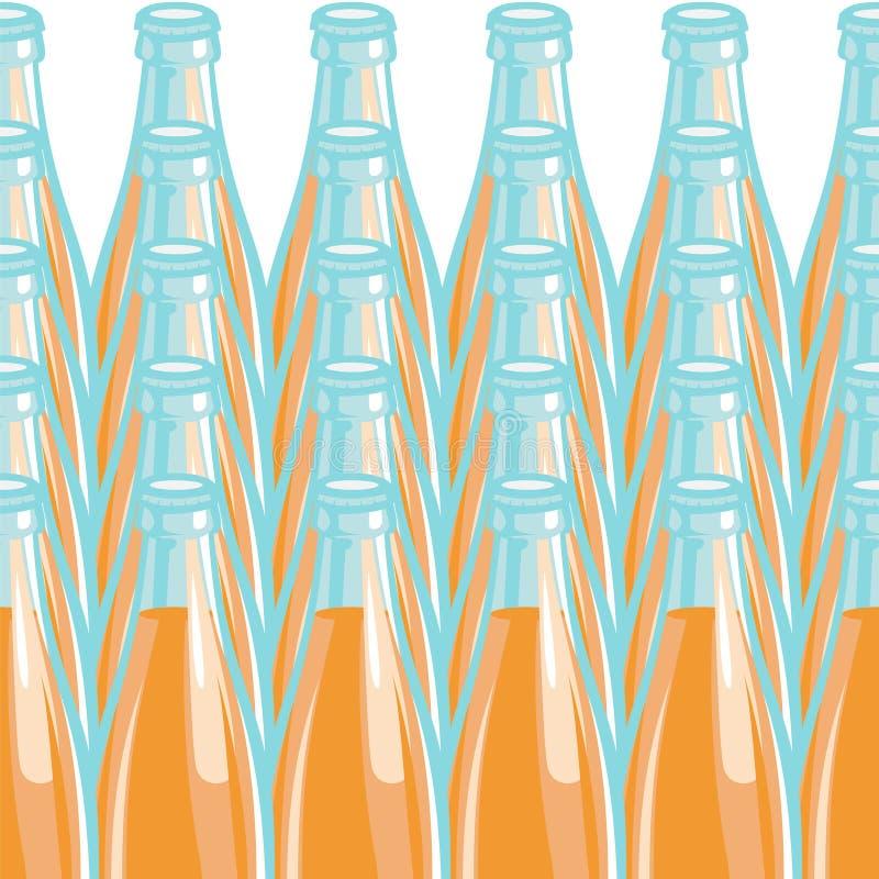 Бутылка лимонада картины также вектор иллюстрации притяжки corel иллюстрация штока