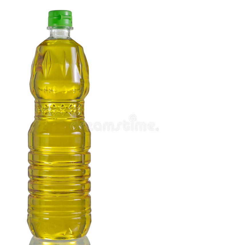 Бутылка масла стоковое фото