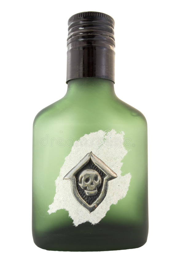 Бутылка отравы стоковое фото