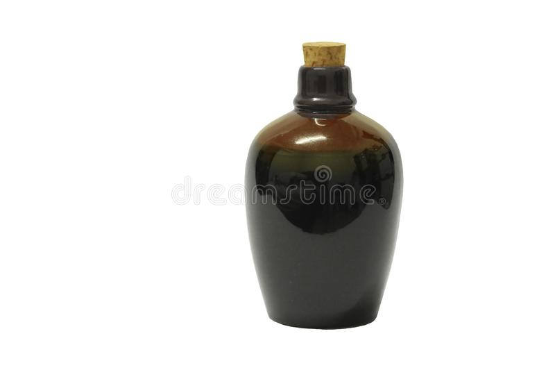 Бутылка ради на белой предпосылке стоковая фотография