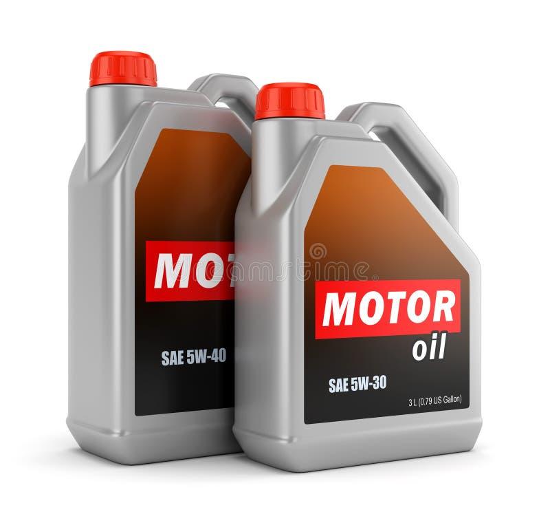 2 бутылки автотракторного масла бесплатная иллюстрация