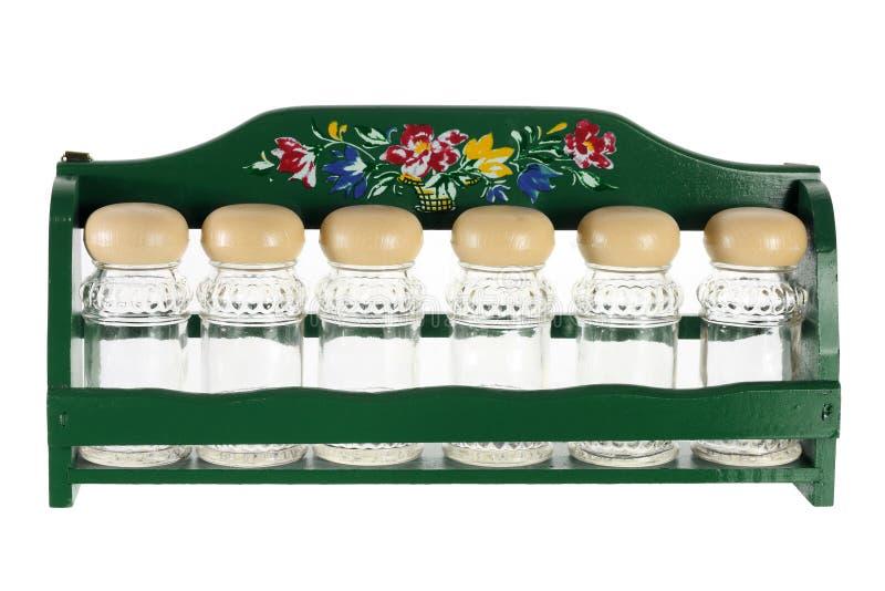 Бутылки специи стоковое изображение rf