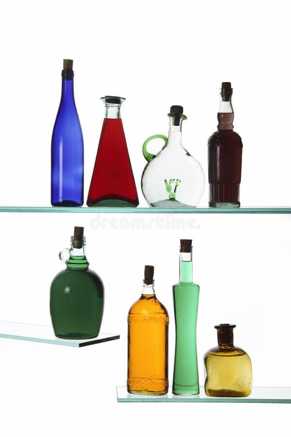 Download Бутылки стоковое фото. изображение насчитывающей конструкция - 33734194