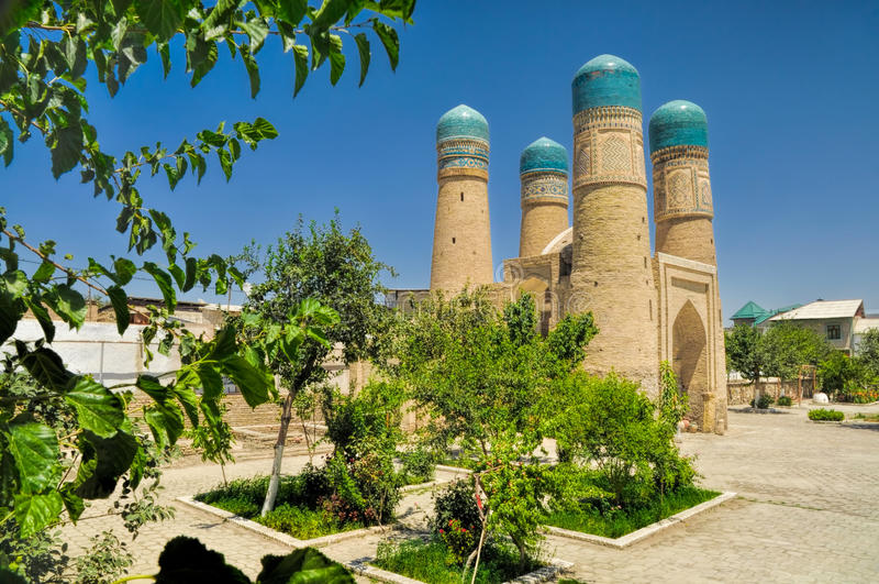 Бухара, Узбекистан стоковое изображение