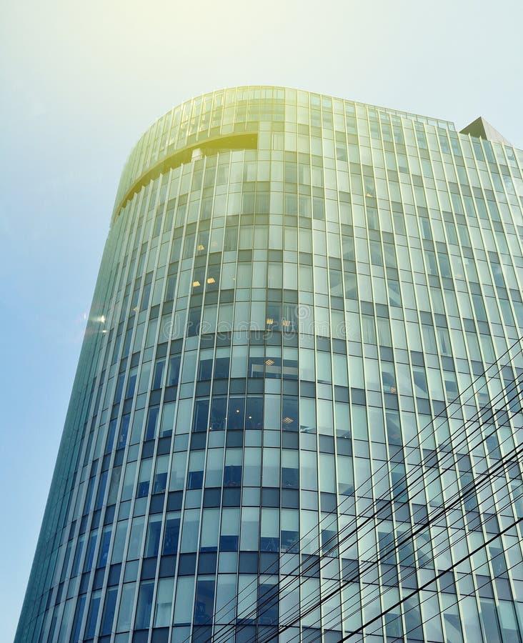 Бухарест одно skyscrapper в слышать Бухареста, стоковые изображения rf