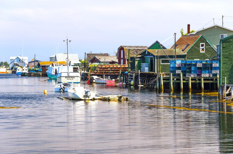 Бухта Пегги, Новая Шотландия, Канада стоковое фото rf