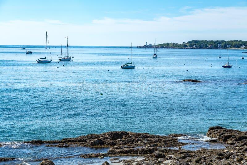 Бухта Портленд Мейн Simonton стоковые фотографии rf