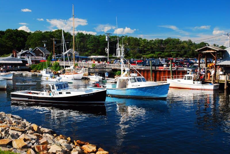 Бухта Perkins, побережье Новой Англии стоковые фотографии rf
