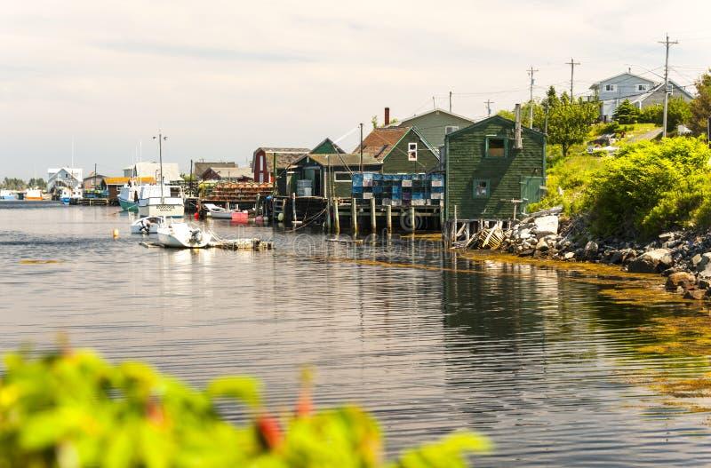 Бухта ` s Пегги, Новая Шотландия, Канада стоковое фото rf