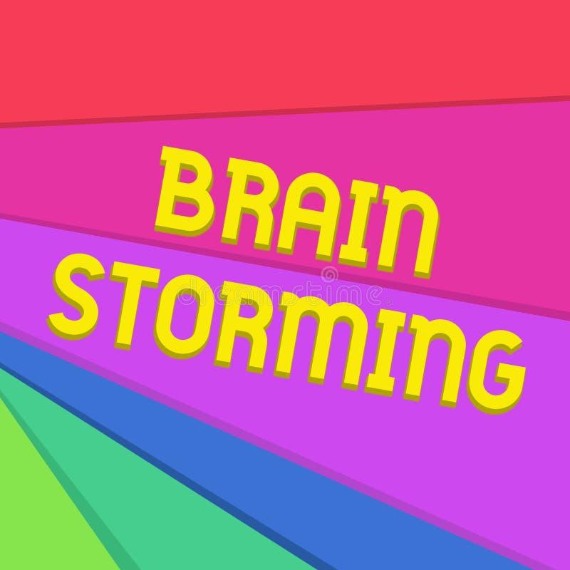 Бушевать мозга сочинительства текста почерка Смысл концепции стимулируя обсуждение идей творческой мысли превращаясь новое бесплатная иллюстрация