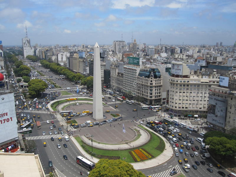 Буэнос-Айрес стоковая фотография