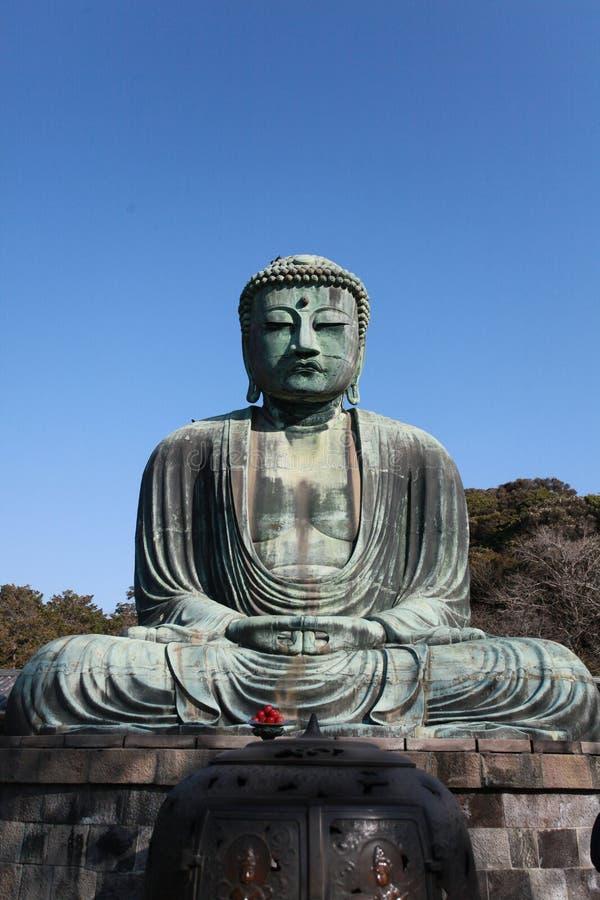 Будда большая япония стоковое изображение
