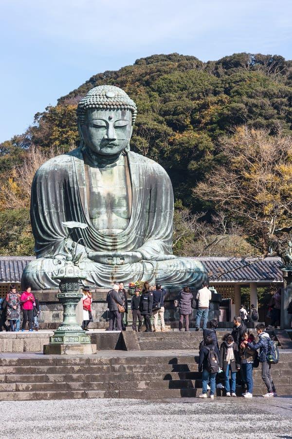 Будда большой kamakura стоковые изображения rf