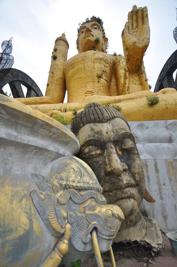 Будда, висок стоковые изображения