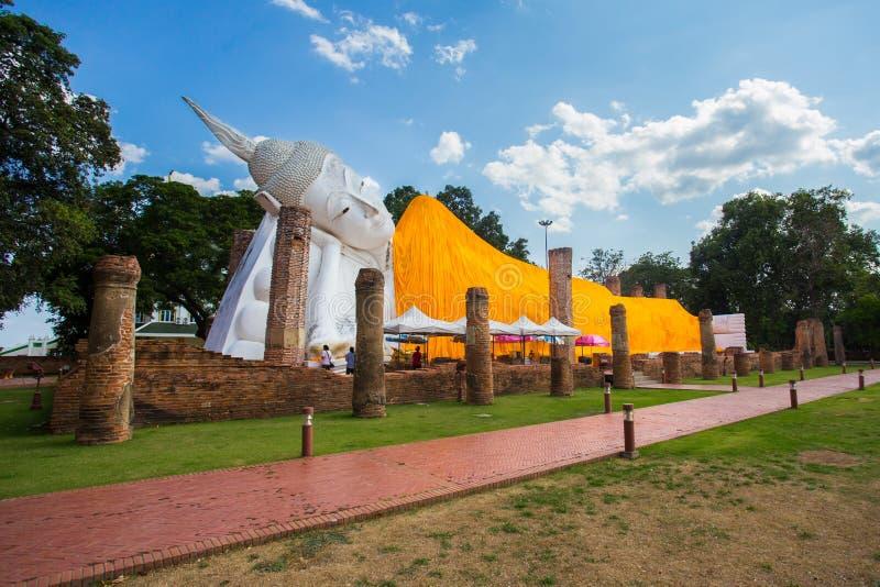 Будда возлежа Таиланд стоковые фотографии rf
