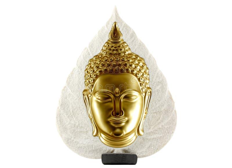 Будда изолировал статую стоковое фото rf
