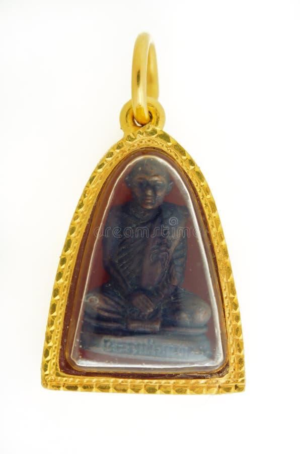Будда и золото обрамляют isolat ранга золота привесных процентов 90k тайское стоковые фотографии rf