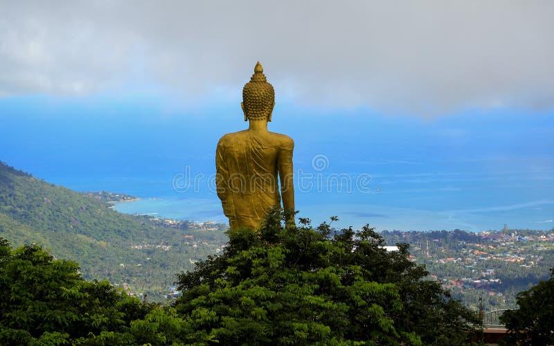 Будда просветил, шалфей, gautama стоковая фотография rf