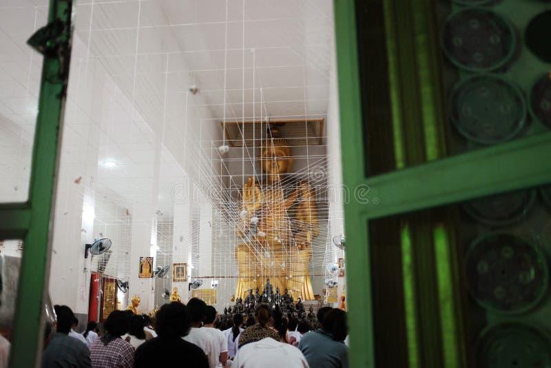 Буддийские Новые Годы церемонии стоковое изображение
