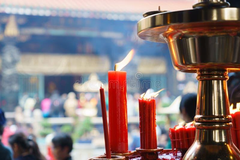 буддийский висок taiwan стоковая фотография rf
