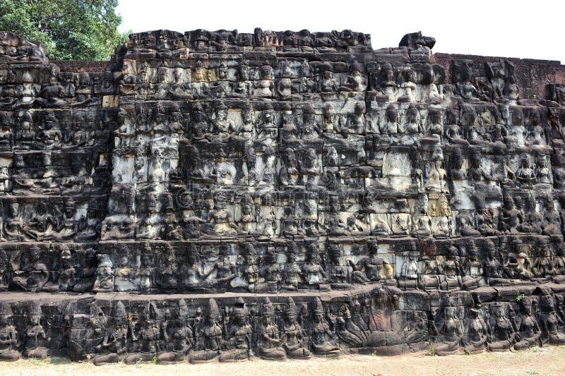 Буддийский высекать стоковое изображение rf