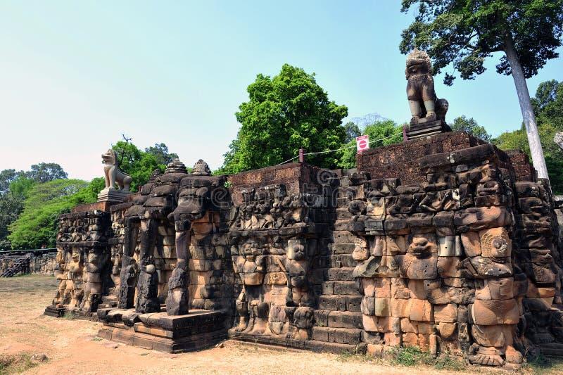 Буддийский высекать стоковые фотографии rf