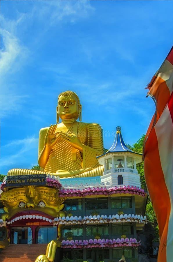 Буддийский памятник в Шри-Ланке стоковые изображения rf
