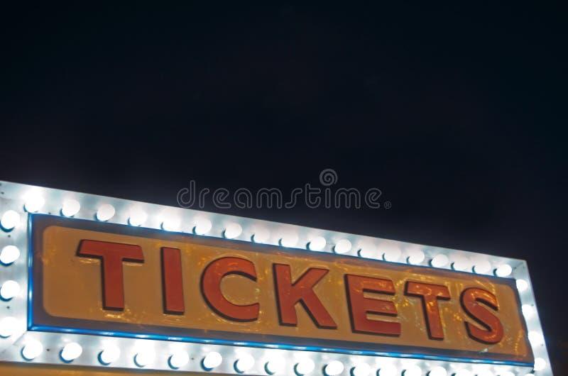 Будочка билетов стоковое фото rf