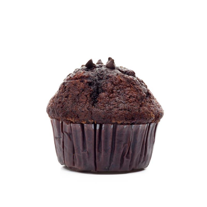 булочка изолированная шоколадом стоковое фото rf