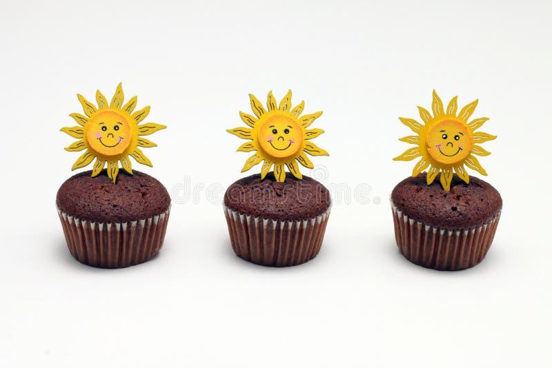 булочки 3 шоколада стоковые изображения