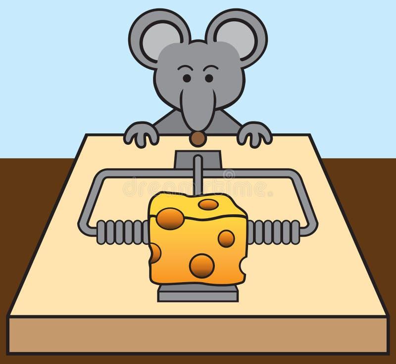 Будучи уговариванным мышь бесплатная иллюстрация