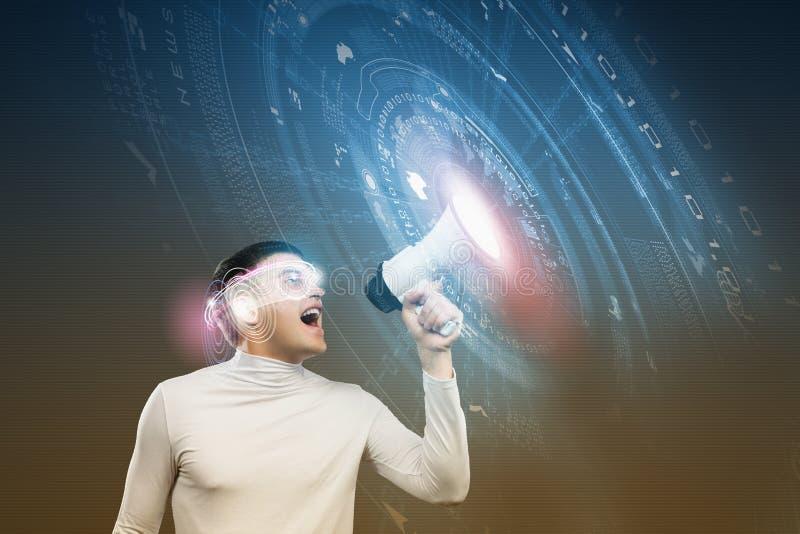 Download будущие технологии стоковое изображение. изображение насчитывающей сеть - 41651377