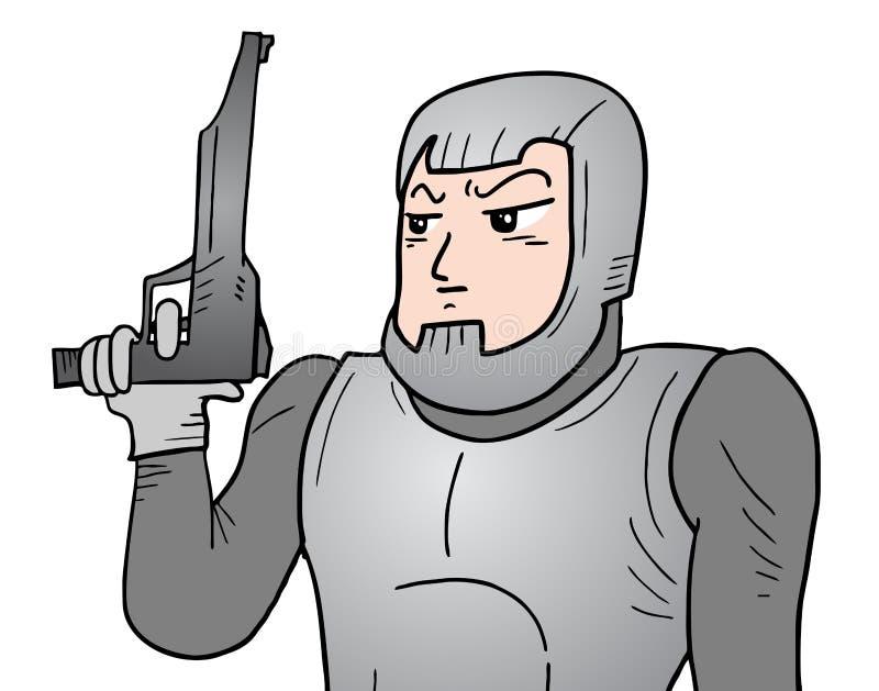 будущий воин бесплатная иллюстрация