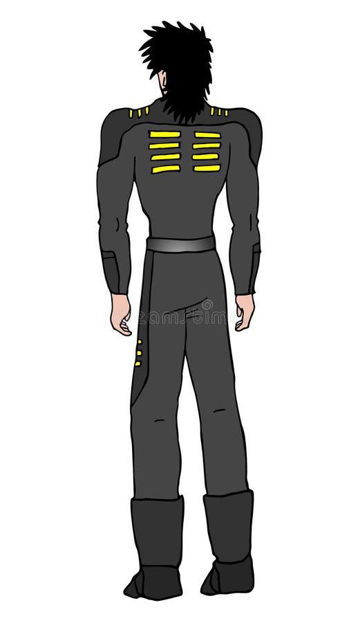 будущий воин иллюстрация вектора