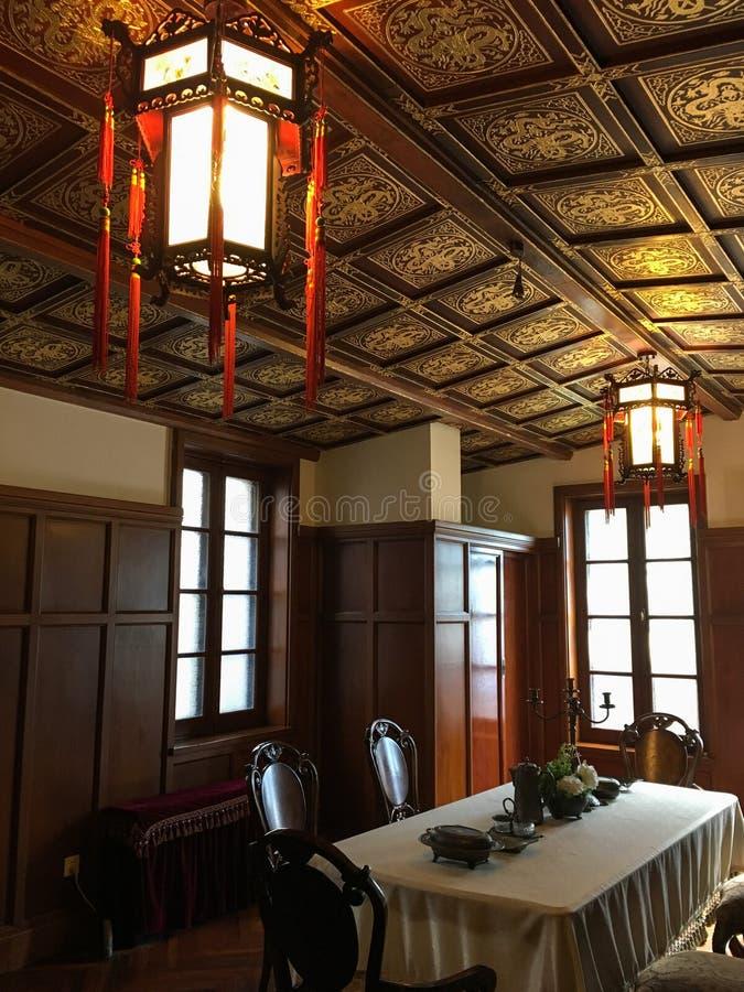 Бывшая резиденция последнего императора Китая стоковое фото rf