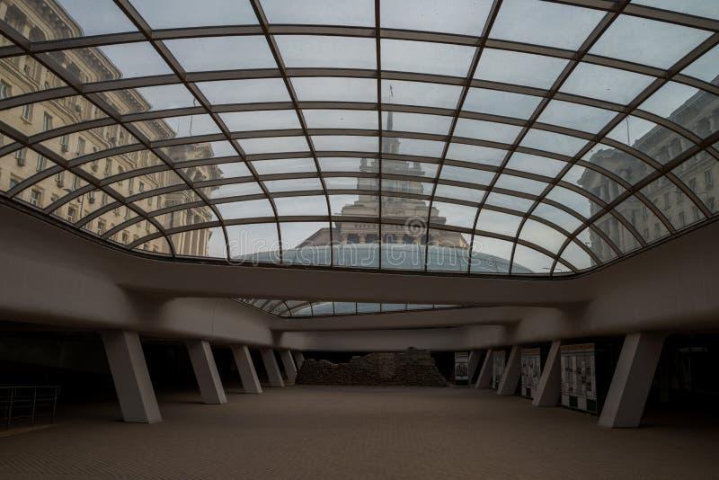 Бывшие болгарские штабы Коммунистической партии стоковое изображение rf