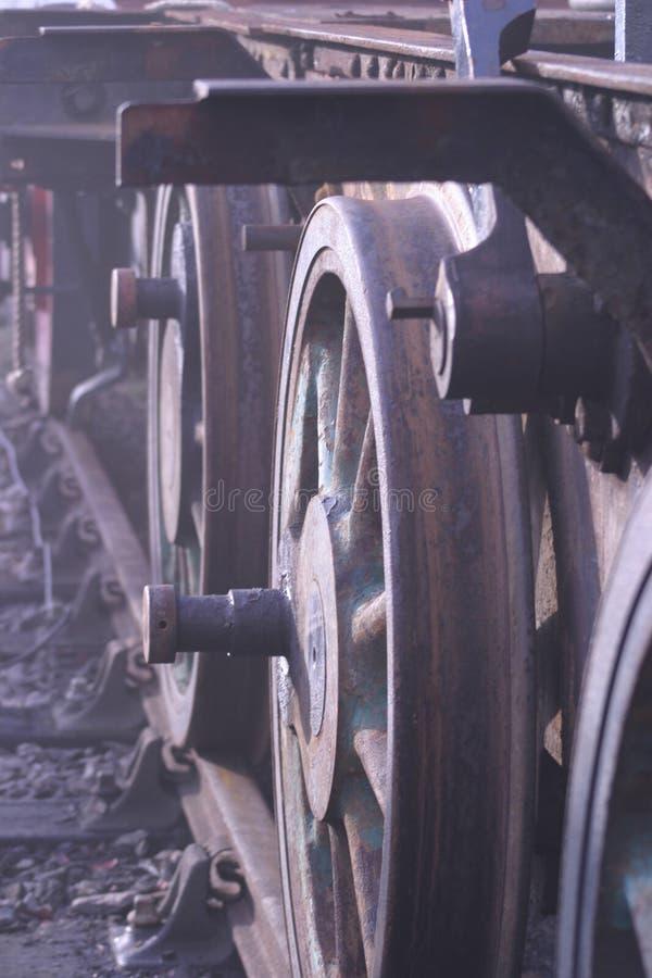 бывшие колеса индустрии Стоковые Фотографии RF